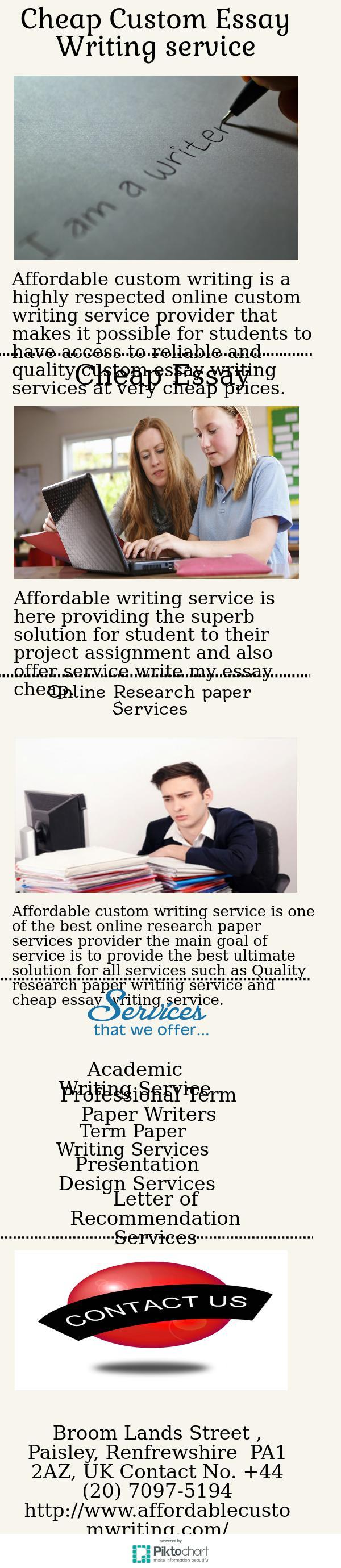 best custom essay writing services