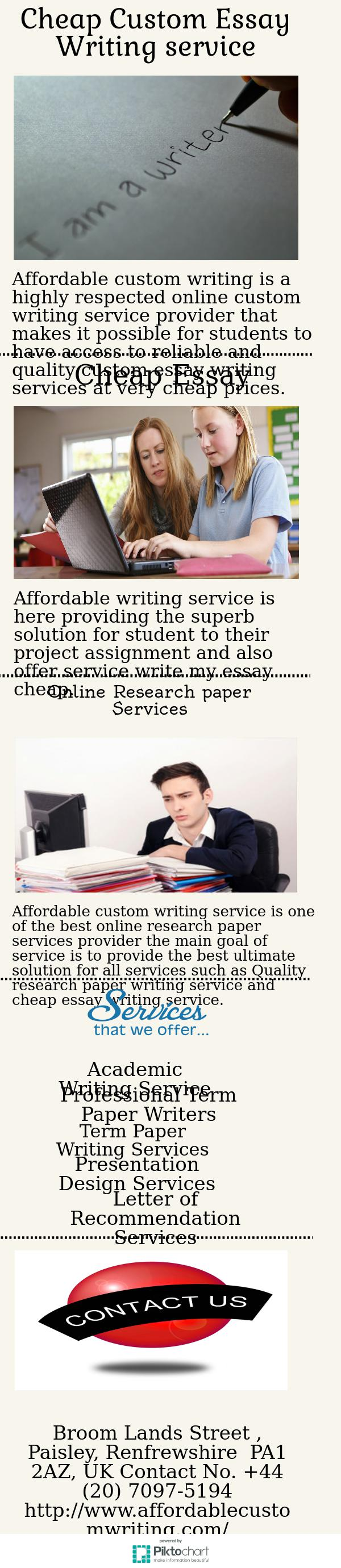 paper writing service cheap