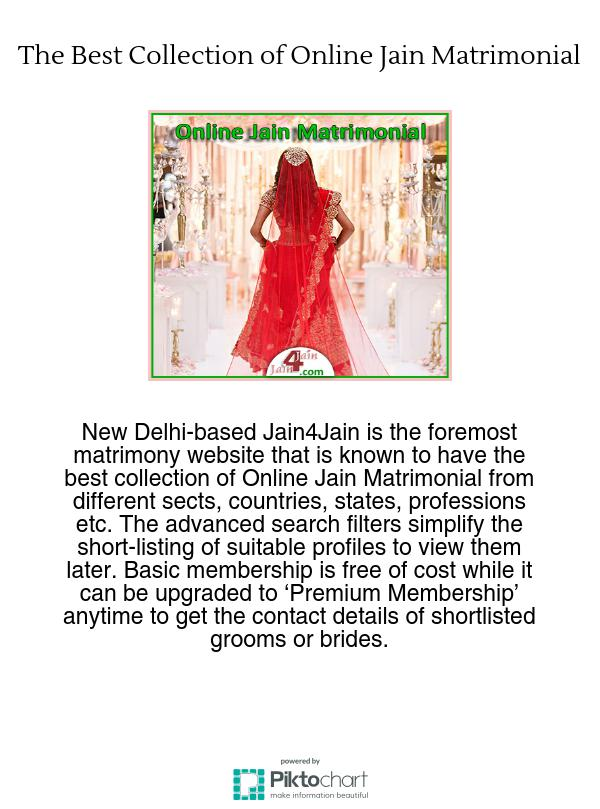 The Best Collection Of Online Jain Matrimonial
