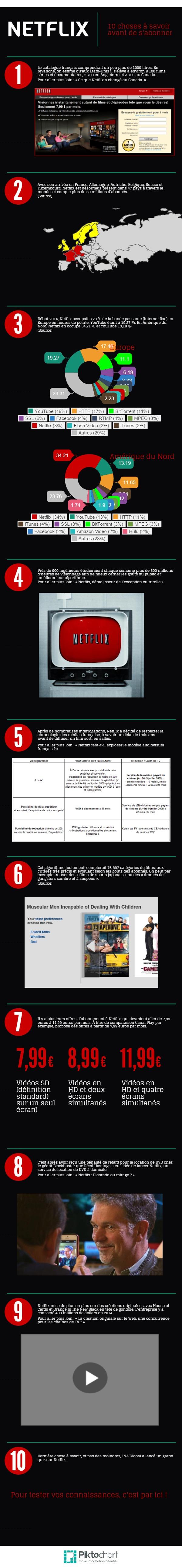 Infographie INA 10 choses a savoir sur netflix