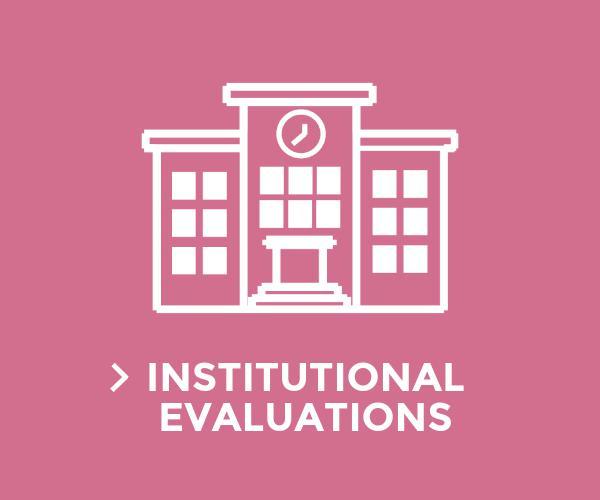 Institutional evaluations
