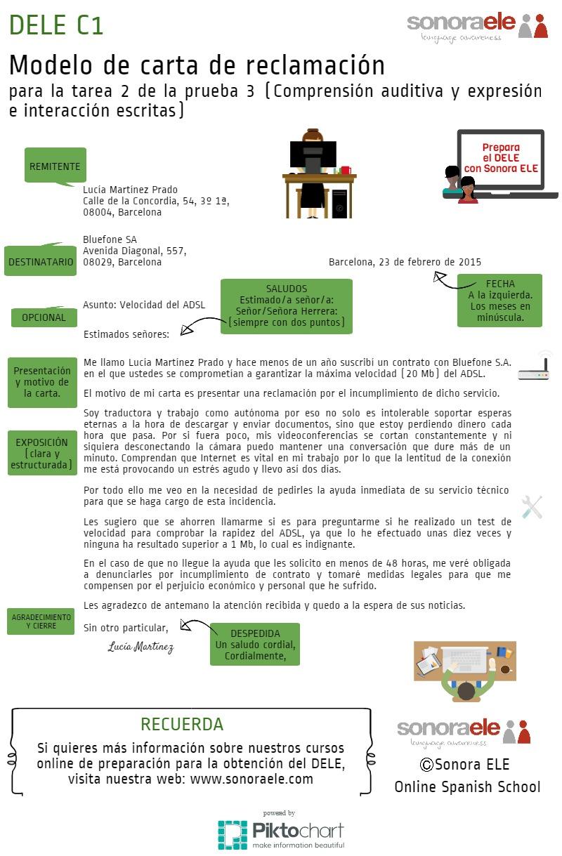DELE C1: Modelo de carta | Piktochart Visual Editor - photo#16
