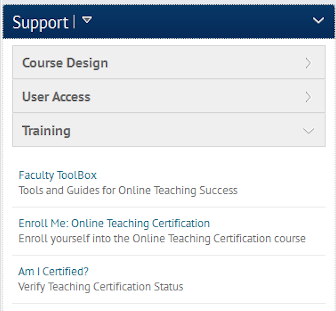 Online teaching certification program navigation piktochart 2 xflitez Image collections