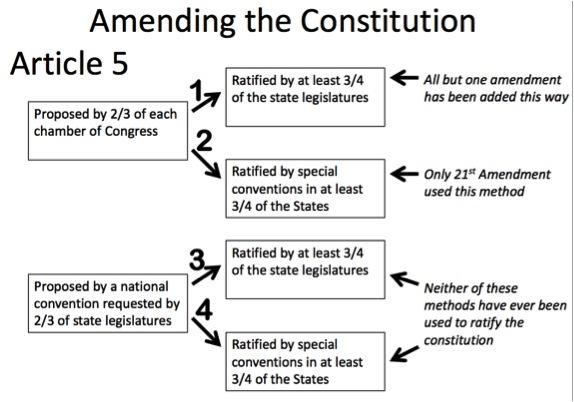 Amending the U.S. Constitution | Piktochart Infographic Editor